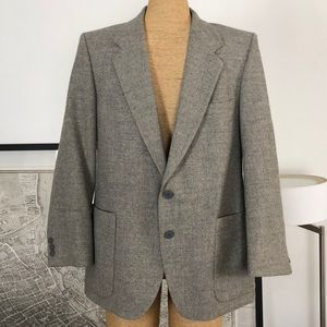 Yves Saint Laurent Wool Blazer Mens Size 42S